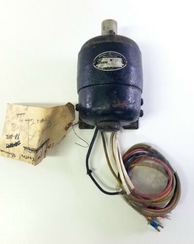General Electric Ge 2JD123A1A Selsyn Ac Motor 200rpm 6mm 115v-ac