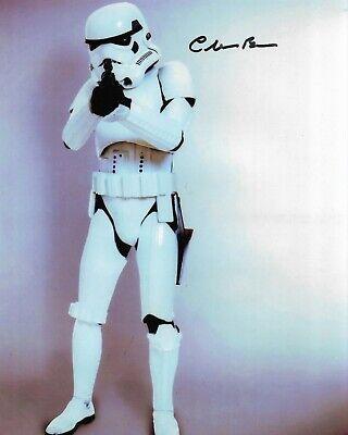 "STAR WARS Chris Bunn ""Storm Trooper ""10""x 8"" signed autograph RARE COA 22160"