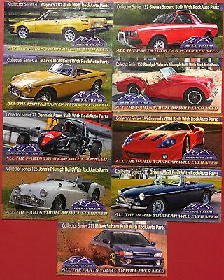 Rockauto Collector Car Magnets   Large Import Car Lot