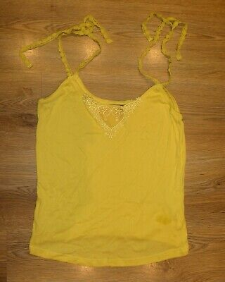 Ted Baker Lace Strap Summer Top 100% Cotton UK 10 UK 12 UK 14 - New Without Tags