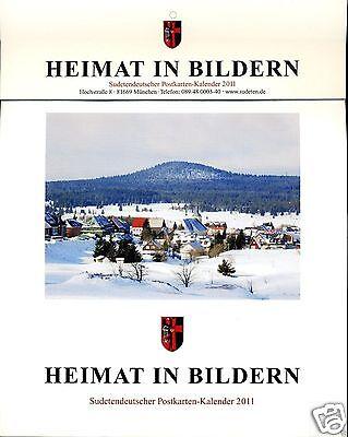 Heimat in Bildern: Sudetendeutscher Postkarten-Kalender 2011 !!!NEU!!!