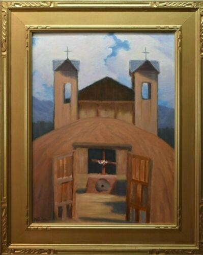 California Impressionist Painting, Arts & Crafts Painting, Santa Fe Painting