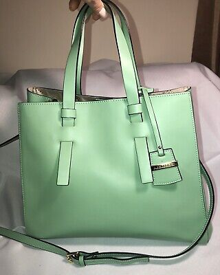 NEW A.BELLUCCI SPAZZOLATO LEATHER ITALY MINT HAND BAG CROSSBODY PURSE-STUNNING!