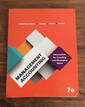 Management Accounting - 7e Langfield Smith Pine Mountain Ipswich City Preview
