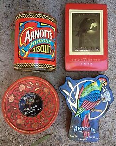 Arnott's Biscuit Tins x 4 Beenleigh Logan Area Preview