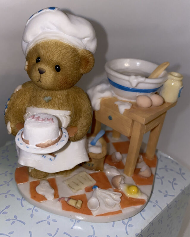 Cherished Teddies 4007736 Child Baking Cake PINCH OF PATIENCE New In Box 2006
