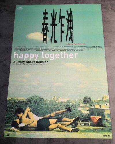 Wong Kar Wai HAPPY TOGETHER Original 4K Release INTL Double-Sided Movie Poster