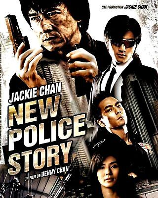 New Police Story  Jackie Chan Dvd Movie  Brand New   Sealed  Fast Ship  Vg 294