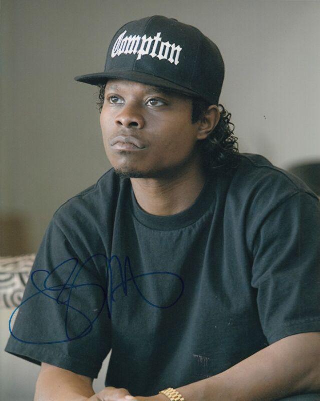 JASON MITCHELL signed (STRAIGHT OUTTA COMPTON) EASY-E 8X10 photo W/COA NWA #3