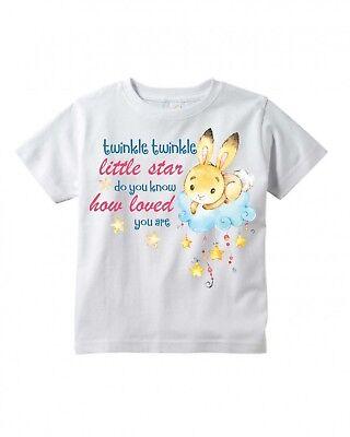 Twinkle Twinkle Little Star  2  Infant Bodysuit Or T Shirt    Personalized