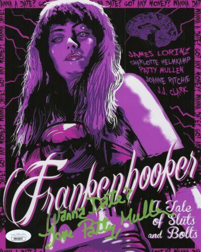 Patty Mullen Autograph Signed 8x10 Photo - Frankenhooker (JSA COA)