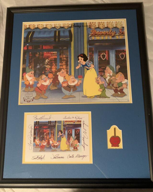 "Disney Animation Gallery Art Snow White & The 7 Dwarfs ""Look What I Got"""