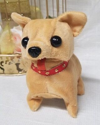 Battery Operated BARKING WALKING Cute Puppy Doggy Toy