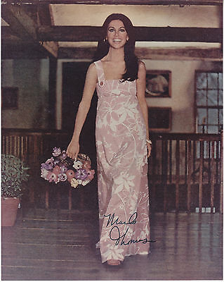 MARLO THOMAS hand signed 8x10 autographed photo photograph ]
