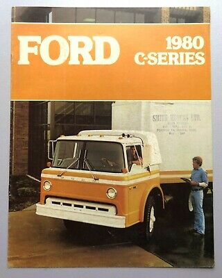 V17102 FORD C-SERIES - CATALOGUE - 1980 - 22x28 - CND GB