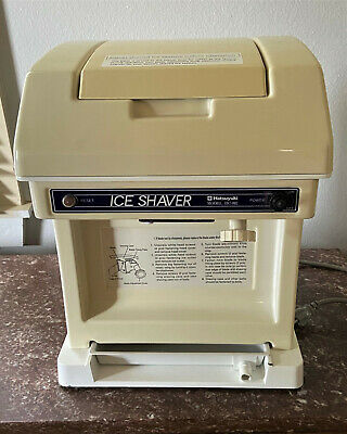 Hatsuyuki Hc 8e 115 Volt Shaved Ice Shaver Snow Cone Machine - Euc