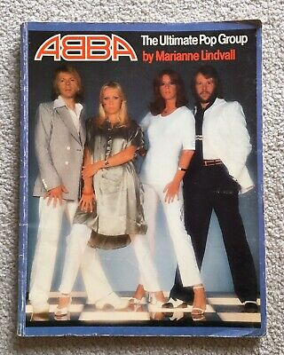 ABBA The Ultimate Pop Group 1977 SC Book By Marianne Lindvall