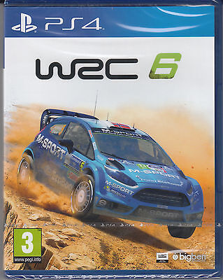 WRC 6 PS4 Sony PlayStation 4 World Rally Championship New Sealed Racing Rally