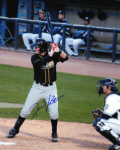 Drew-Vettleson-auto-signed-8x10-photo-Bowling-Green-Hot-Rods-Tampa-Rays-prospect