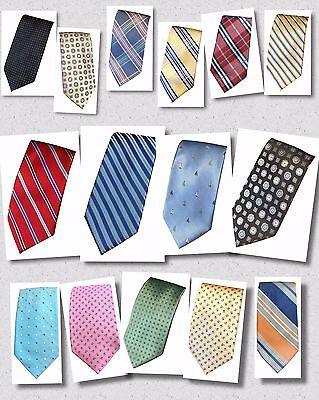 Dockers Men's Neck Tie MANY COLORS PATTERNS Choose Stripe Nautical Plaid NEW - Nautical Tie