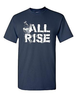 All Rise Judge Home Run Champ Yankee Mens Tee Shirt 1646