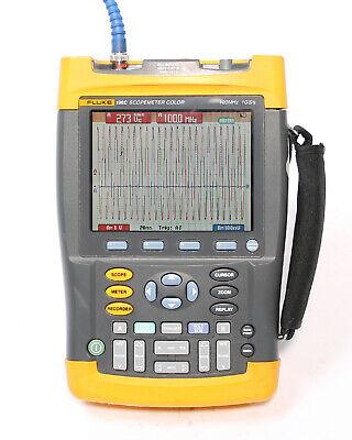 Fluke 196c 100mhz 1gss Digital Oscilloscope Scopemeter Multimeter