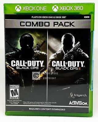 Call of Duty: Black Ops 1 & 2 Combo Pack - Xbox 360 / Xbox One - Brand New