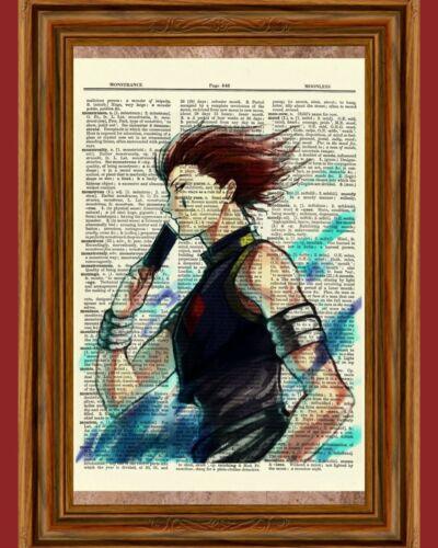 Hisoka Hunter X Hunter Anime Dictionary Art Print Poster Picture