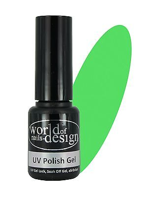 5 ml. UV + LED Lack✅ apple Green ✅Gel Lack, Hybrid Lack, Polish Gel, ABLÖSBAR Apple Green Leder