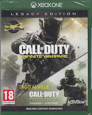 Call of Duty Infinite Warfare Legacy Edition Xbox One Brand New Sealed COD
