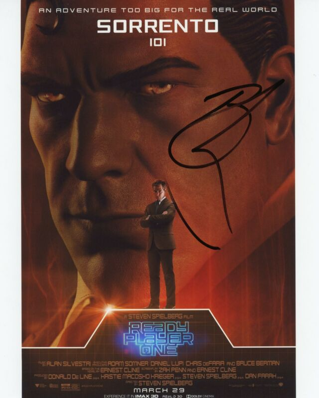 """Ben Mendelsohn """"Ready Player One"""" AUTOGRAPH Signed 8x10 Photo"""