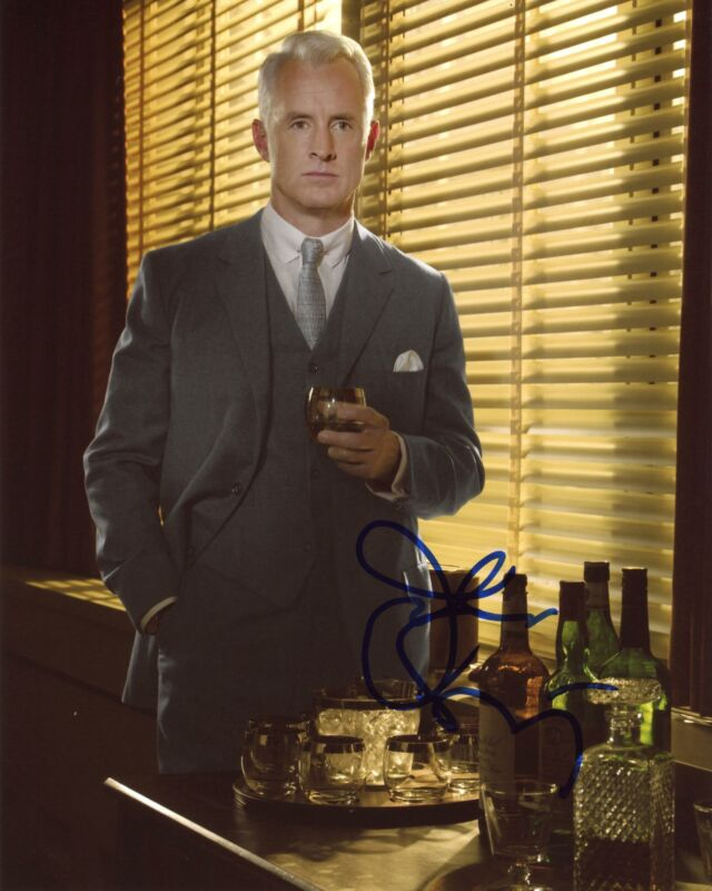 "John Slattery ""Mad Men"" AUTOGRAPH Signed 8x10 Photo C ACOA"