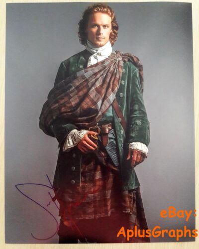 SAM HEUGHAN.. Outlander's Jamie Fraser (11x14) SIGNED