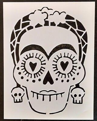 Sugar Skull Female (Day of the Dead Female Sugar Skull 8.5