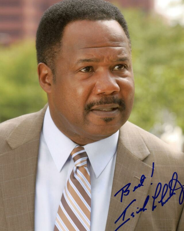 """Isiah Whitlock Jr. """"The Wire"""" AUTOGRAPH Signed 'Clay' 8x10 Photo"""