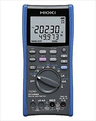 Hioki Electric Dt4282 Digital Multimeter 10a Terminal Mounted Type 508 New