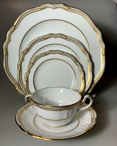 SPODE SHEFFIELD PLACE SETTING(s) (5 pieces)  PERFECT