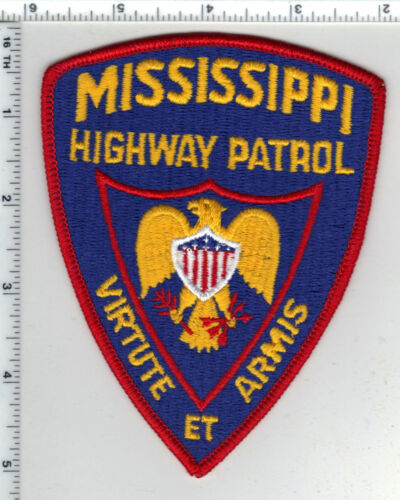 Highway Patrol (Mississippi) Shoulder Patch from the 1980