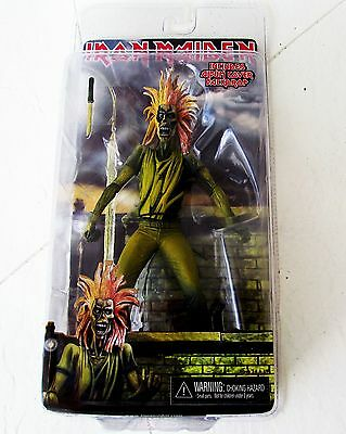 "Iron Maiden Eddie Backdrop  6"" Inch Action Figure Toy NECA New In Box NIB"
