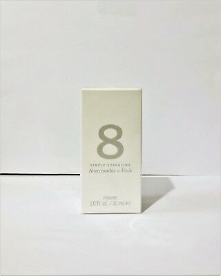 Abercrombie 8 Simply Sparkling Limited Edition Perfume 1.0 Oz New Sealed  Box for sale  South Richmond Hill