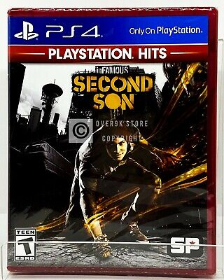 Infamous Second Son - PS Hits - PS4 - Brand New | Factory Sealed