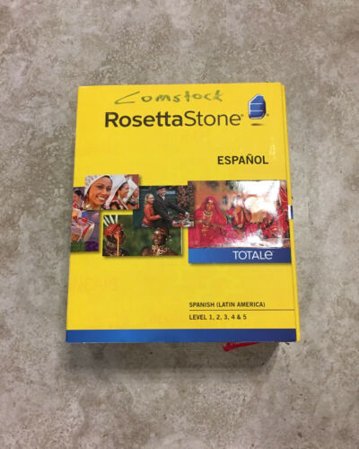 Rosetta Stone Spanish/Espanol (Latin America) Version 4 - Level 1-5 (Sealed)