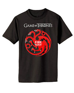 Game Of Thrones Targaryan Dragon Shirt Fire and Blood Shirt