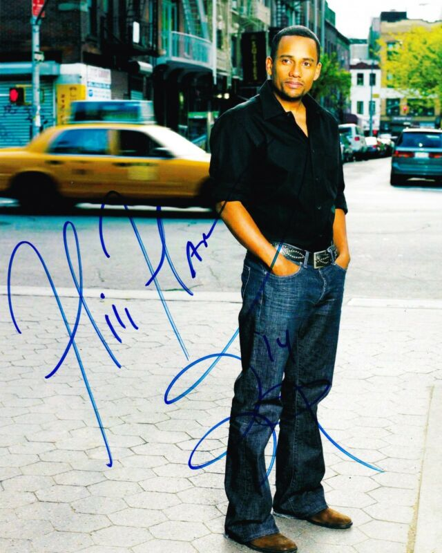 HILL HARPER SIGNED 8X10 PHOTO AUTHENTIC AUTOGRAPH NCIS: NEW YORK CBS COA