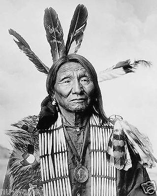 Native American (Lakota Sioux) man, identified as Crazy Bear, 1900