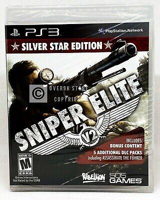 Usado, Sniper Elite V2: Silver Star Edition - PS3 - Brand New | Factory Sealed segunda mano  Embacar hacia Mexico