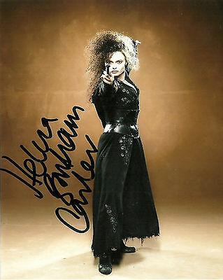 Helena Bonham Carter  8 x 10 Autograph Reprint  Fight Club  Alice In Wonderland