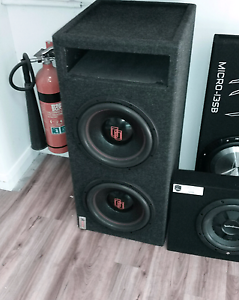 "Digital design subwoofers 12"" South Lake Cockburn Area Preview"
