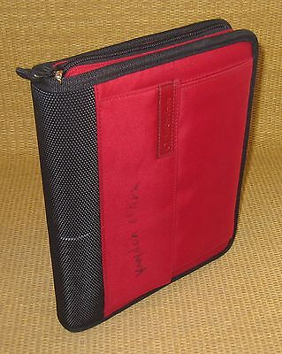 Classic 1 Rings Redblack Durable Sport Franklin Covey Zip Plannerbinder