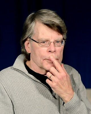 Stephen King 8 x 10 / 8x10 GLOSSY Photo Picture